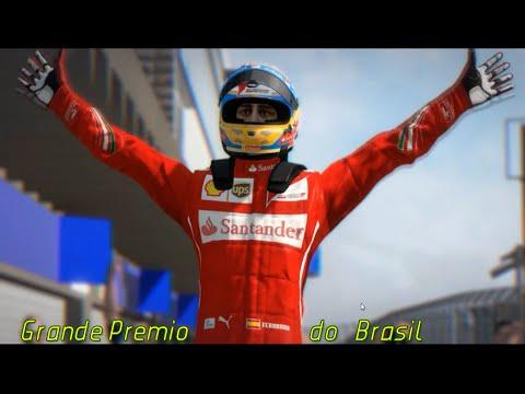 F1 2014 - Fernando Alonso - Grande Premio do Brasil  - BR