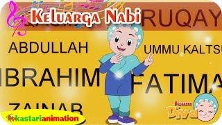KELUARGA NABI | Lagu Anak Islami bersama Diva | Lagu Nabi Muhammad | Kastari Animation Official