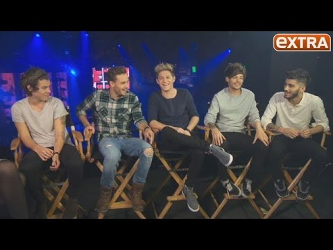 One Direction On Dating Rumors, Midnight Memories And Their Favorite Late-night Foods video