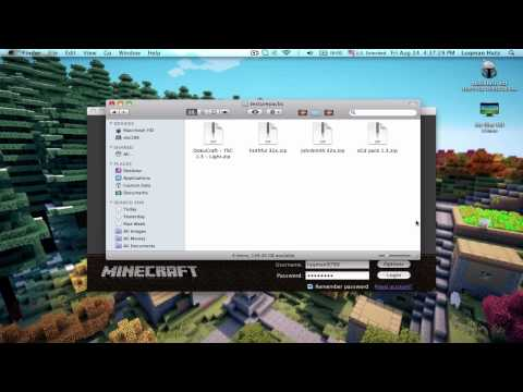 Minecraft: How To Install Texture Packs [Mac] - HD