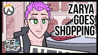 Zarya Goes Shopping: An Overwatch Cartoon