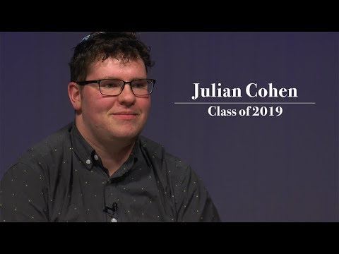 Spiritual Lives at Lawrence: Julian Cohen