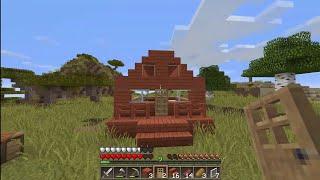 Minecraft sinh tồn 1.13.2 #2: May mắn x10 ( Xây nhà )