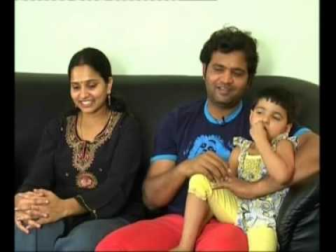 Chit Chat With - TV Star - Prabhakar - his Wife - and Kids
