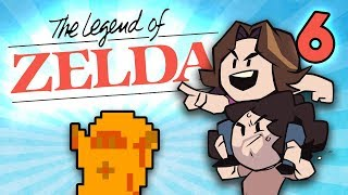 Beefed-Up Zelda: This Temple Is Hard - PART 6 - Game Grumps