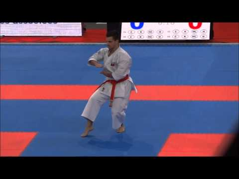 Kata Kururunfa By Antonio Diaz - 21st Wkf World Karate Championships video