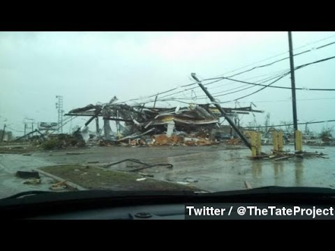 Tornado Tears Through Tupelo, MS