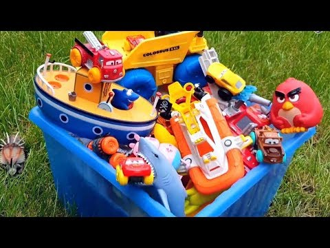 Мультики про Машинки все серии подряд с игрушками 🔴Прямой эфир