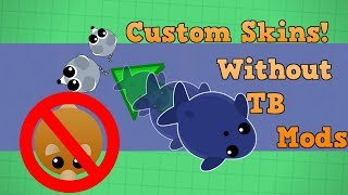 Mope.io How To Use Custom Skins/Abilities WITHOUT TB Mods!! (Mope.io Tutorial)