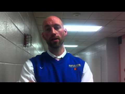 Postgame with Milwaukee King coach Craig Machut