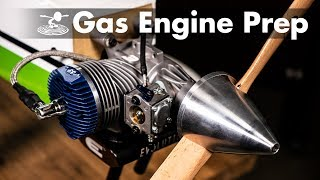 Getting into Gas Planes - Breaking in an Engine