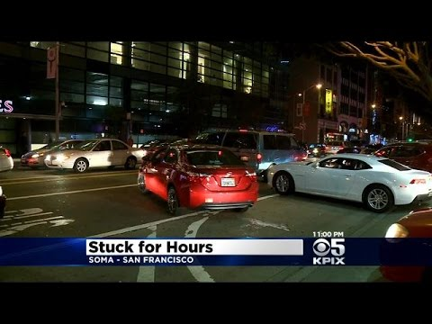 Friday Night Traffic Nightmare In SF SoMa Blamed On Presidential Visit