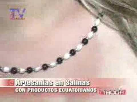 Artesanías en Salinas con productos ecuatorianos