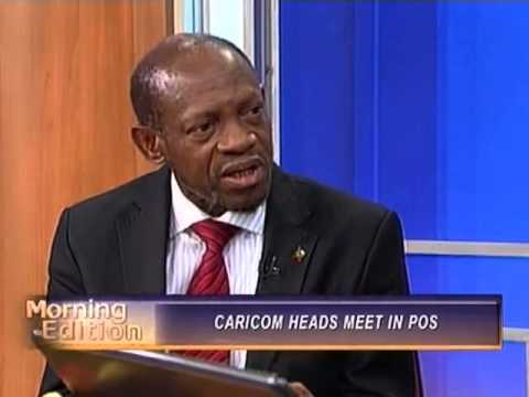 St. Kitts Nevis Prime Minister makes appearance on Trinidad's TV6 Morning Edition