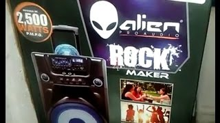 Alien proaudio rock maker speaker