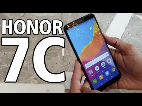 Honor 7C: Unboxing & First Look | Hands on | Price | [Hindi हिन्दी]
