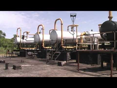 La industria petrolera en el Ecuador