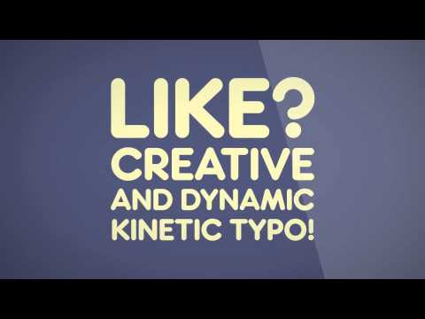 Kinetic Typography Best 47 Videos For Type Fans