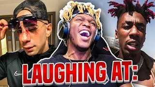 LAUGHING AT: FOUSEY AND DAX