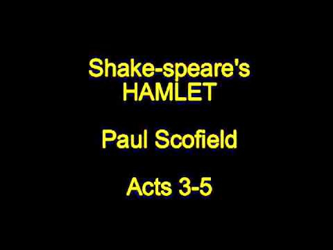 Shake-speare's Hamlet  -  Acts 3-5