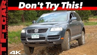 Mundane To Monster: This Simple Change Made Our Cheap VW Touareg Unstoppable Off-Road!