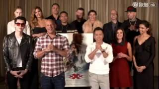 xXx : return of xander cage promotions in china