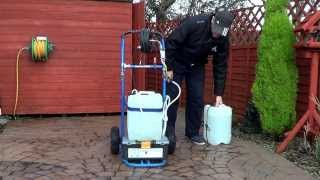 Window Cleaning Tips - DIY Water Fed Pole Trolley Barrels