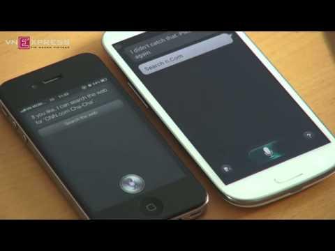 iphone 4s Siri Vs. Samsung Galaxy S3 S-Voice