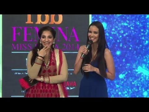 Oops moment for Miss World 2013 Megan Young IANS India Videos