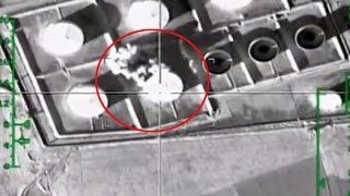 Rus jetleri, IŞİD'in petrol tesislerini böyle vurdu