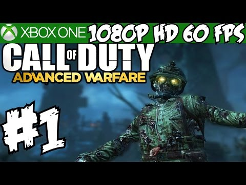 Call of Duty Advanced Warfare Exo Zombies Walkthrough Part 1 Havoc DLC CO-OP Gameplay Review