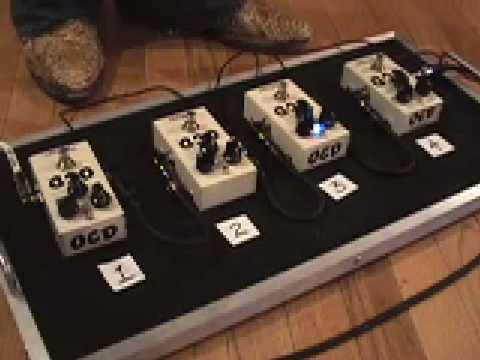 Fulltone OCD Versions 1 2 3 4 ALL OF THEM with Les Paul and Dr Z MAZ Amplifier