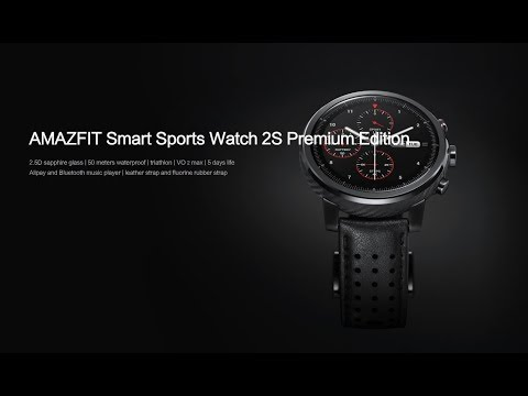 Huami Amazfit Stratos PACE 2 smartwatch release