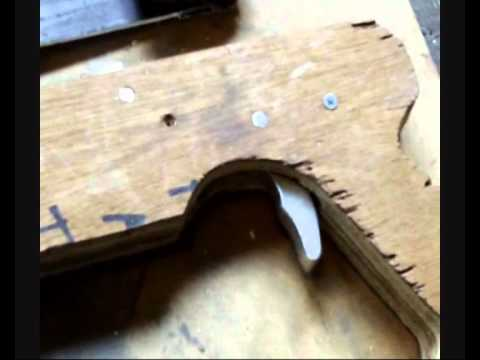 How To Make A Pump Action Crossbow - Part 5