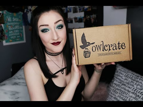OWLCRATE MARCH UNBOXING l Across the Galaxy.