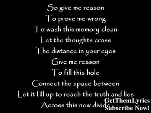 Linkin Park - New Divide (lyrics) - Getthemlyrics video