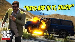 SELLING PLAYERS STICKY-BOMB RIGGED CARS! (GTA RP)