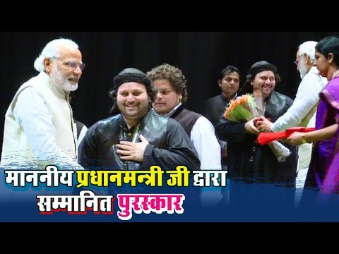 माननीय प्रधानमन्त्री जी सम्मानित देते हुए (Rajya Sabha) - Chand Qadri | PM Narendra Modi