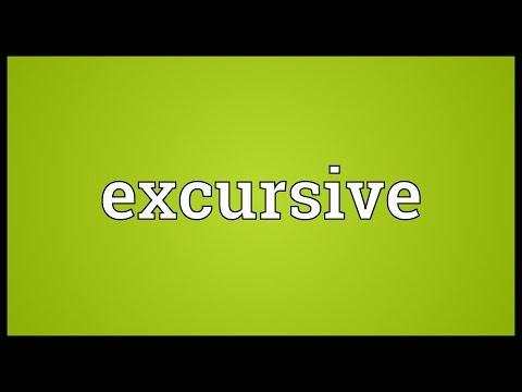Header of excursive
