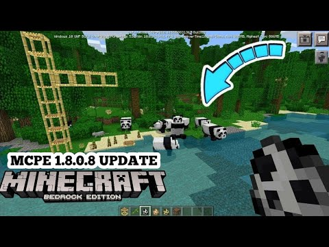 Minecraft PE 1.8.0.8 | MCPE 1.8.0.8 BUILD 1 UPDATE RELEASED!! + FULL REVIEW!! (Pocket Edition)
