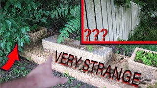 Mysterious Fence and Massive Erosion in Historic Graveyard