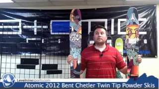 Atomic 2012 Bent Chetler Twin Tip Powder Skis