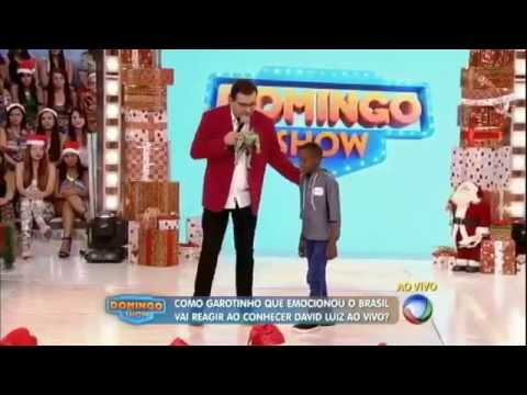 David Luiz no Domingo Show (21/12/14)