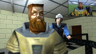(EN) Half-Life Alpha in GoldSrc and Preliminary Mods Walkthrough and Commentary