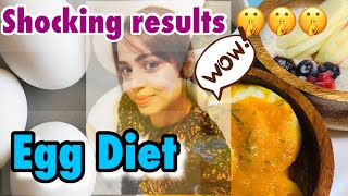 Egg Diet | Lose Weight Fast | Chloe Ting Abs Workout My shocking Results !!