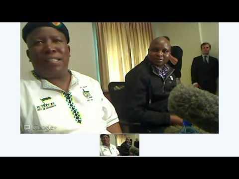 Julius Malema Press Conference