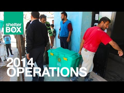 ShelterBox: Operations Manager Alf Evans talks 2014 Deployments
