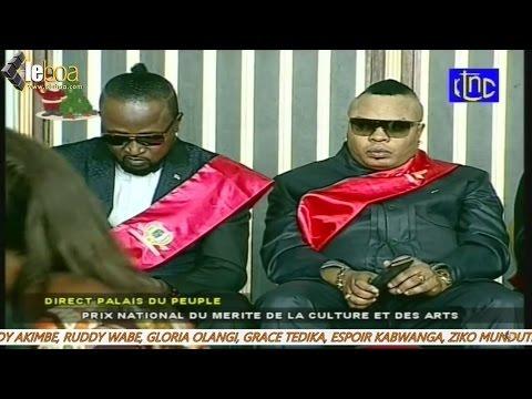 RDC: Joseph Kabila prime 90 artistes au Palais du Peuple (Archive)