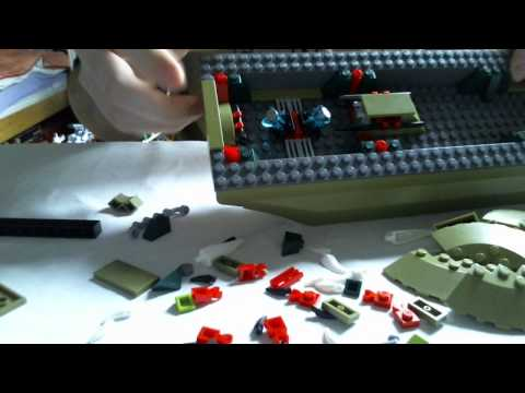 LEGO Live Construction : Legends of Chima's Cragger's Command Ship (3/4) [Français]