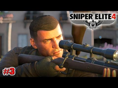 Sniper Elite 4 УБИТЬ ГЕНЕРАЛА ШМИДТА (КАМПАНИЯ) (3 серия)